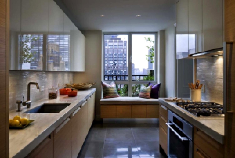 Идеи для интерьера кухни с балконом
